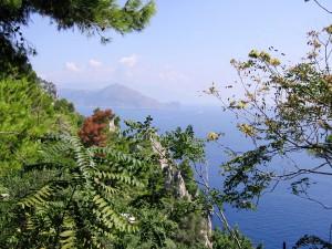 Ausblick auf das wundervolle Mittelmeer