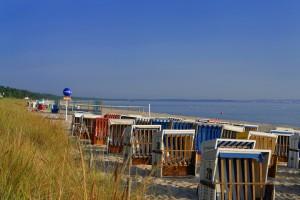 Entspannung zwischen Dünen und Meer