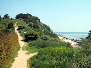 Fahrradwege an der wunderschönen Ostsee