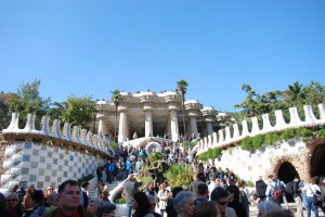 flickr Park Guell, Barcelona by George M. Groutas