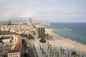 flickr Sandy Beaches of Barcelona by Nadrey Belenko